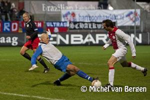 Foto Foto's benefiet wedstrijd oud Haarlem tegen oud Ajax