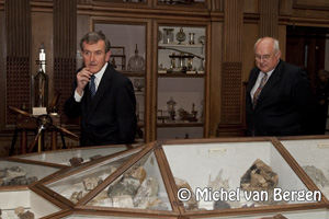 Foto Teylers Museum viert 225ste verjaardag met eregast Neil MacGregor