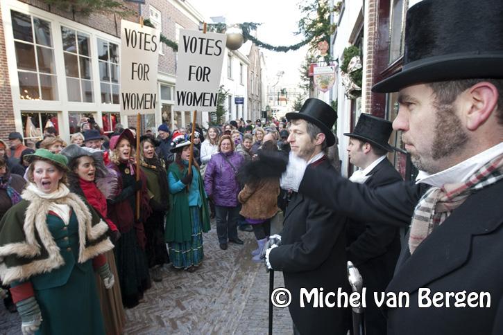 foto's charles dickens festijn 2009 in deventer (bergkwartier)
