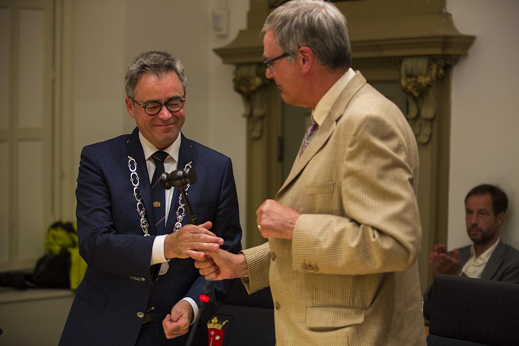 Jos Wienen geïnstalleerd als nieuwe burgemeester van Haarlem