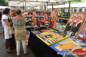 Foto's kunstmarkt Spaarndam
