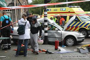 Foto: ongeval Parklaan Haarlem