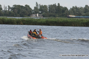 Foto middel waterongeval Spaarne