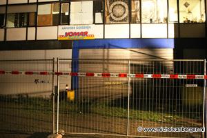Foto's ontruiming pand Loggerstraat