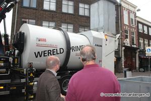 Foto's Wereldprimeur voor Haarlemse vuisnisophalers