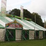 Evangelisch tentenkamp in Zaanenpark