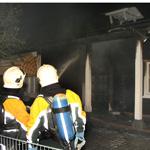 Brand in dorpshuis De Driehoek