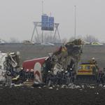 Vliegtuig stort neer bij Schiphol