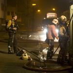 Gevaarlijke stoffen vrijgekomen na binnenbrand in loods Waarderp