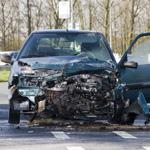 Vrouw raakt gewond bij zware aanrijding in Velserbroek