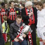 Benefietdag EDO Haarlem - FC Utrecht voor Boy Jochemz