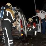 Auto gespaard voor de vlammen door adequaat optreden van buurtbe
