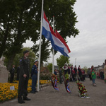 Dodenherdenking op de Jan Gijzenkade