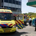 Scooterrijder gewond bij aanrijding Parallelweg in Beverwijk