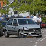 Veel schade bij aanrijding op de Rijksstraatweg