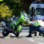 Motorrijder ernstig gewond op Heemsteedse Dreef