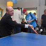 Jongerencentrum Delftwijk City met potje tafeltennis geopend