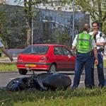 Twee meisjes gewond bij scooterongeval Oudeweg Haarlem