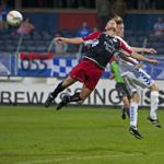 HFC Haarlem - AGOVV Apeldoorn Haarlem staat troosteloos onderaan