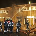 Aanzienlijke schade aan woning Gouwstraat na brand