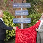 Haarlem - Wethouder Maarten Divendal had vandaag de eer om de ni