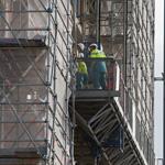 Stalen pijp verwond twee bouwvakkers Haarlem