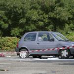 Automobilist gewond na explosie Glipperdreef Heemstede