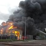 Grote brand Heining Amsterdam (industrieterrein Westelijk Haveng