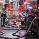 Grote brand in centrum Haarlem