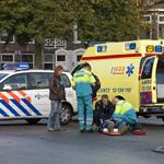 Vrouw gewond na aanrijding Santpoorterstraat