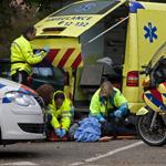 66 jarige vrouw gewond na aanrijding Bloemendaalseweg