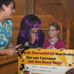 Demelza wint met kleurwedstrijd reis naar Euro Disney