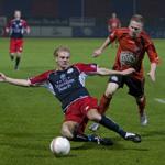 FC Volendam in de slotfase voorbij HFC Haarlem