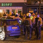 Aanrijding Kennemerlaan IJmuiden tussen vier personenauto's
