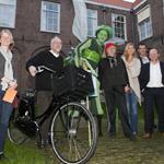 Uitreiking Groene Mug in stadhuis Haarlem