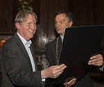 Laurens van Krevelen ontvangt Laurens Janszoon Costerprijs 2009