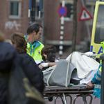 Zwarte Piet gecrasht en afgevoerd naar ziekenhuis!