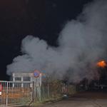 Keet in de brand gevlogen aan Ir Lelyweg