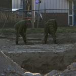 Explosief ontploft Kotterkade IJmuiden