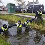 Zoekactie naar sporen schietpartij Amsterdam