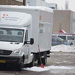 Man zwaargewond bij val van vrachtwagen ivm sneeuwruimen
