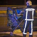 Lange file na zwaar ongeval op de A9 bij Zwanenburg