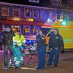 Man gewond na aanrijding met auto op de Rijksstraatweg in Haarlem