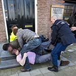 Consternatie op de Koudehorn in Haarlem