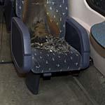 Brandstichting in intercity-trein in Haarlem
