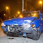 Veel schade na uitwijkmanoeuvre op de Kleverlaan