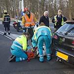 Man gewond bij verkeersongeval op het Velsertraverse