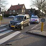 Auto stopt voor zebrapad in Heemstede: 3 gewonden