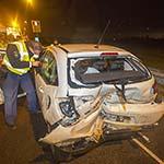 Zwaar ongeval op de A9 bij Spaarndam
