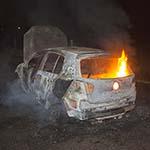 Brandweer moet autobrand voor de tweede maal blussen